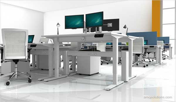 AMQ Sit Stand Tables